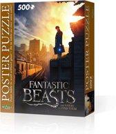 Wrebbit Poster Puzzle - Fantastic Beasts New York City 500 stukjes