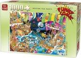 Funny Comic Puzzel 1000 Stukjes BOSTON TEA PARTY