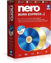 Nero Burn Express 4 - Nederlands / Engels / Frans - Windows