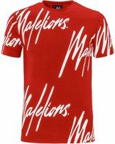 Malelions T-shirt Frenkie - Red