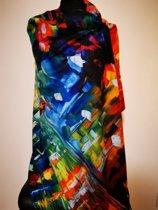 Paco's Cuenca Art Dames Wintersjaals