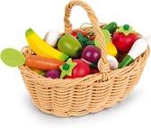 Janod Mandje groente en fruit (24-delig)