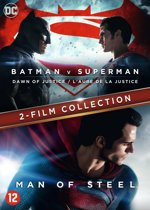 Batman v Superman - Dawn of justice + Man of steel, (DVD). DVDNL