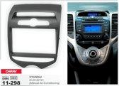 2-DIN HYUNDAI iX-20 2010+ (Manual Air-Conditioning) inbouwpaneel Audiovolt 11-298