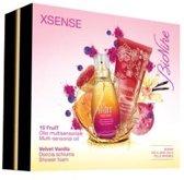 BIONIKE XSENSE Geschenkset - 15 Fruit Multi-sensorial oil + Velvet Vanilla Shower Foam