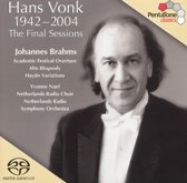 Hans Vonk, The Final Sessions/Academic Festival Ov