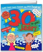 Paperdreams - Wenskaart - Cartoon - 30 Jaar