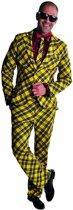 Feesten & Gelegenheden Kostuum | Tof Tafelkleed Kostuum Man | Extra Small | Carnaval kostuum | Verkleedkleding