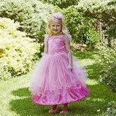 Travis Designs Pink Sweetheart Prinsessenjurk met Haarband 6 - 8 jaar