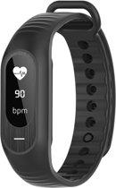 Smart Band - sporthorloge - Met hartslagsensor, bloeddrukmeter -- Black