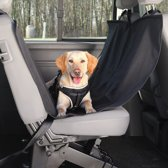 TRIXIE Honden auto beschermhoes achterbank 150x135 cm zwart 1348
