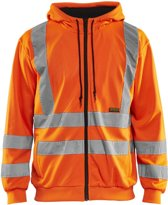 Blåkläder 3346-1974 Hooded Sweatshirt High Vis Oranje maat M