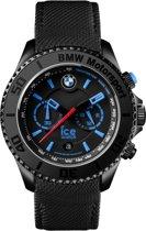 Ice-Watch BMW Motorsport BM.CH.KLB.B.L.14 - Horloge - Leer - Blauw - Ø 44 mm