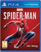 Cover van de game Marvels Spider-Man - PS4