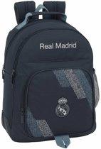 Real Madrid - Rugzak extra stevig - 42 cm - Grijs