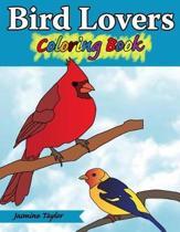 Bird Lovers Coloring Book