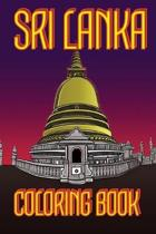 Sri Lanka Coloring Book: Temple Us Edition