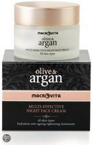 Macrovita Olive & Argan Nachtcrème met Arganolie