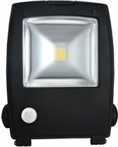 LED Schijnwerper 30W 2100lm IP65 interne PIR sensor daglicht wit