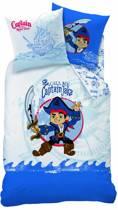 Disney Jake en de Nooitgedachtland piraten Captain - Dekbedovertrek - Eenpersoons - 140 x 200 cm - Multi
