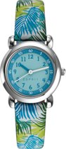 Esprit ES906494004 - Horloge - Leer - 27 mm - Wit