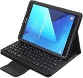 Shop4 - Samsung Galaxy Tab S3 9.7 Toetsenbord Hoes - Bluetooth Keyboard Cover Lychee Zwart
