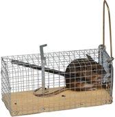 Muizenvangkooitje met houten bodem