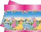 plastic tafelkleed - disney prinsessen - 120 x 180 cm