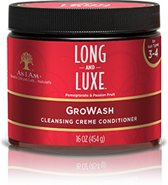 As i Am Long and Luxe GroWash Cleansing Creme Conditioner 454gr