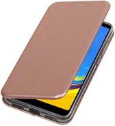 Roze Slim Folio Case voor Samsung Galaxy A7 2018