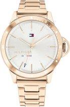 Tommy Hilfiger TH1782024 Horloge - Staal - Rosékleurig - Ø  38 mm
