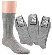 2 paar schapenwollen sokken ( Maat 39-42)