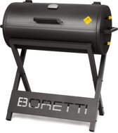 Boretti Barilo Houtskool barbecue - Antraciet
