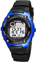 Sportief Kinderhorloge – Digital Kids Watch – Blauw