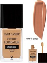Wet 'n Wild Photo Focus Foundation - 373C Amber Beige - Medium Dark