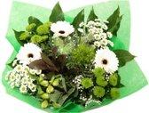 Biedermeier wit boeketje bloemen