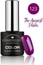 Cosmetics Zone UV/LED Hybrid Gel Nagellak 7ml. The August Plum 123
