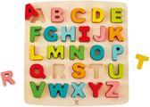 Alfabetpuzzel hoofdletters