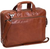 Chesterfield Laptoptas A4 Manuel 15.4'' Cognac