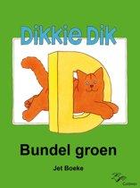 Omslag van 'Dikkie Dik - Bundel groen'