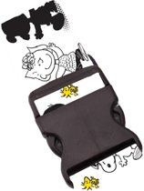 Snoopy Kofferriem - Wit - 3 stuks