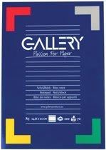 Gallery schrijfblok formaat A5 gelijnd 100 vel