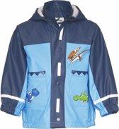 Kinder blauwe regenjas dinosaurus design 92 (18-24 mnd)