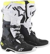 Alpinestars Crosslaarzen Tech 10 Black/White/Fluor Yellow-45.5 (EU)