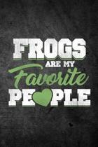 Frogs Are My Favorite People