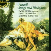 Purcell: Songs and Dialogues / Emma Kirkby, David Thomas, Anthony Rooley