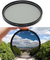 Polarisatie Filter - 52 MM - Circulair CPL Foto Lens Filter - Voor Canon / Nikon / Sony Camera