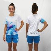 Bones Sportswear Dames T-shirt Flower maat L