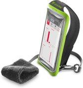 Cellularline Handband 5.2'' Armband doos Zwart, Groen