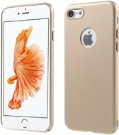 GSMWise - Apple iPhone 7 - Rubberen Hard PC Back Cover - Goud